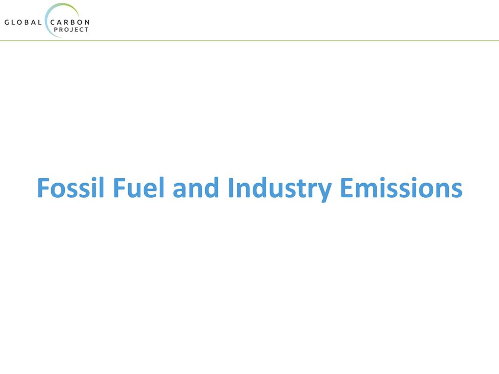 Fossil Fuel and Industry Emissions