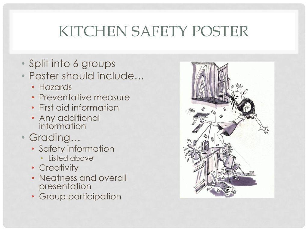 Kitchen Safety Obj ppt download