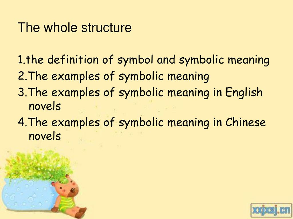 Symbolic meaning Name:杨悦 李海珍 ppt download