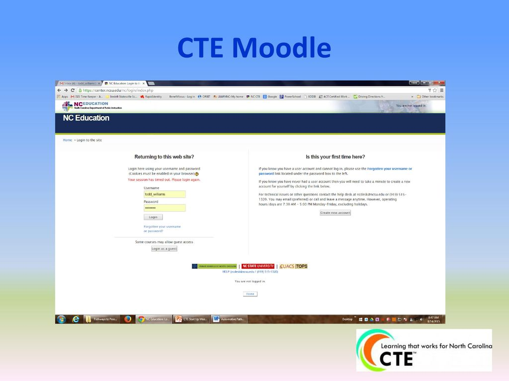 Welcome back 2016 2017 cte start up meeting ppt video online 44 cte moodle malvernweather Images