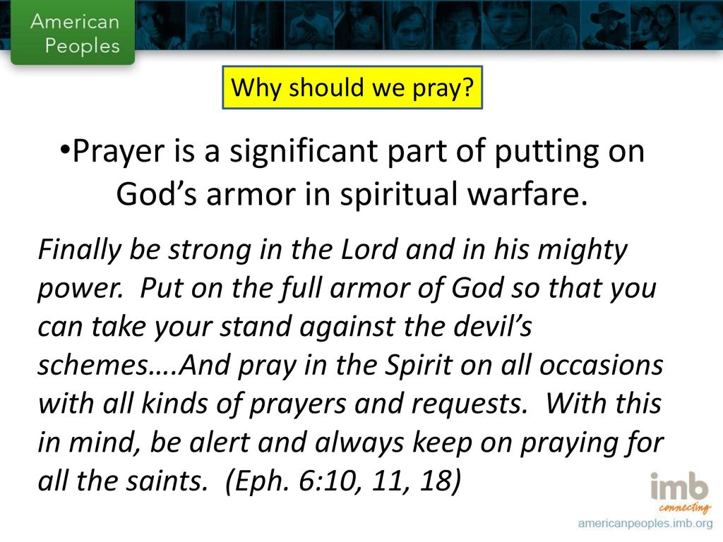 Prayer as Strategy!  - ppt download