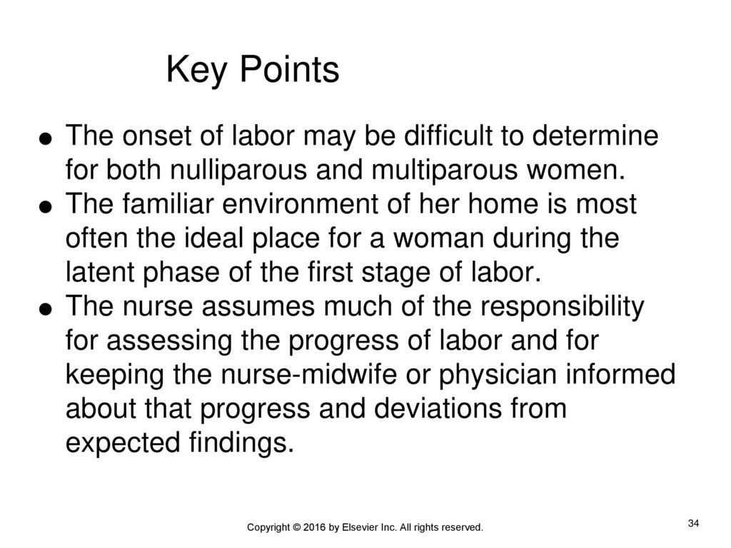 The onset of labor. How to determine the onset of labor 79