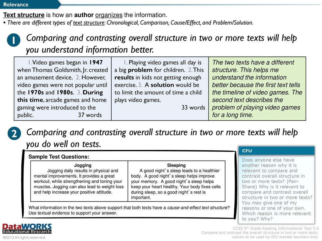 "Common Core ""Shifts"" in ELA / Literacy - ppt download"