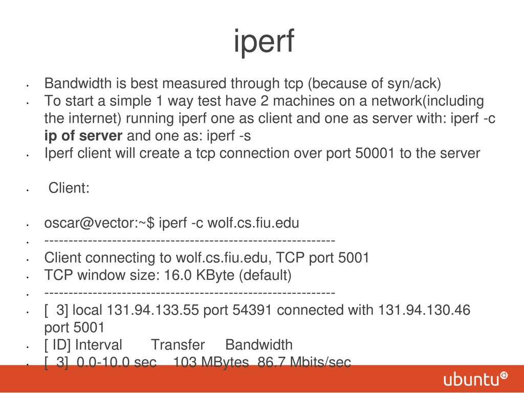 iperf a gnu tool for IP networks - ppt video online download