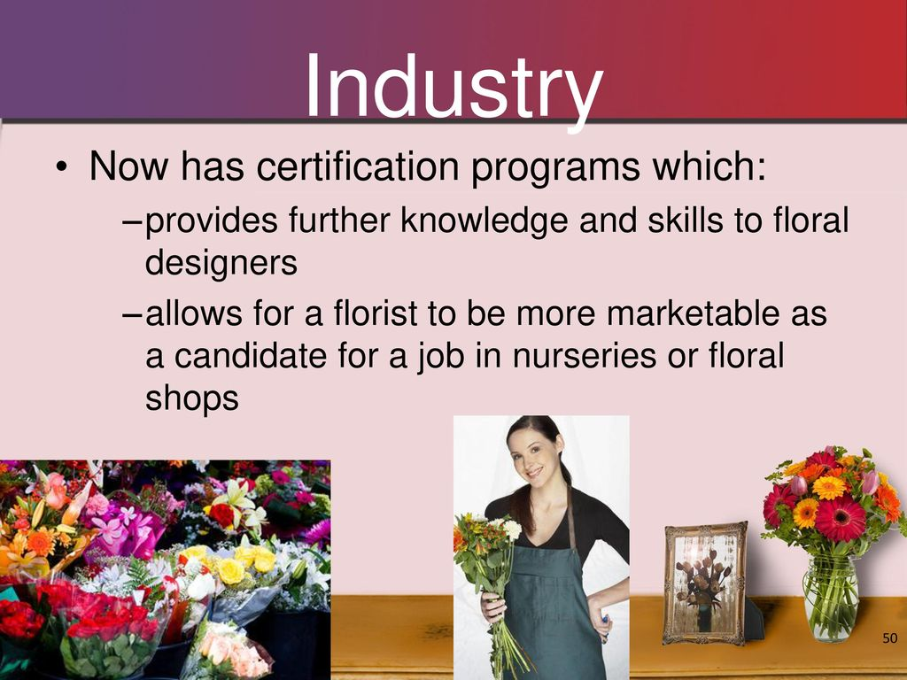 Objectives To Identify The Origins Of Floral Design Ppt Video