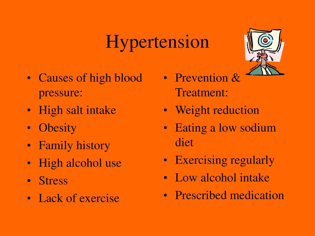 what causes high blood pressure