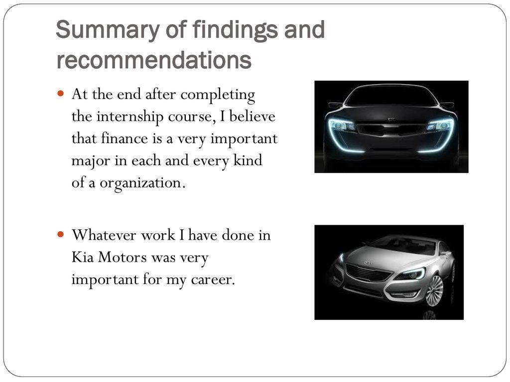 Kia Motors Final Project Ppt Video Online Download