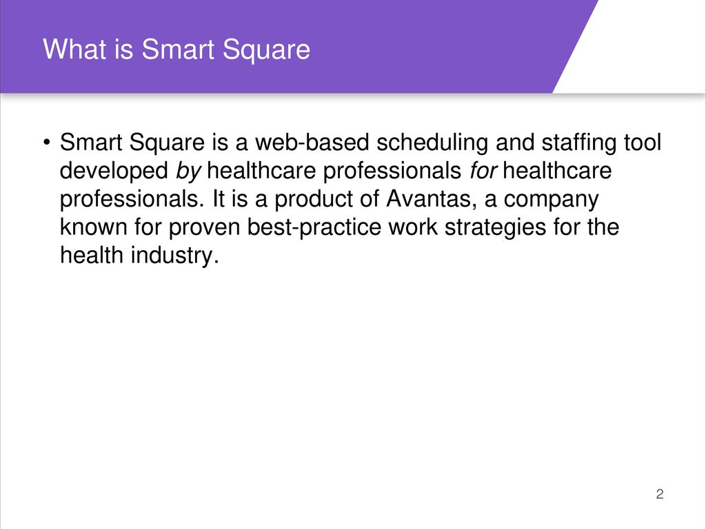 welcome to smart square! - ppt download