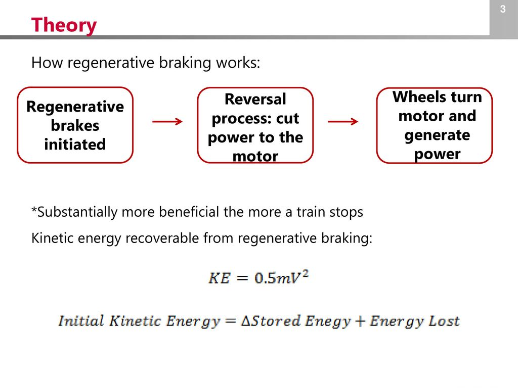 Regenerative Braking in Mass Transit - ppt download