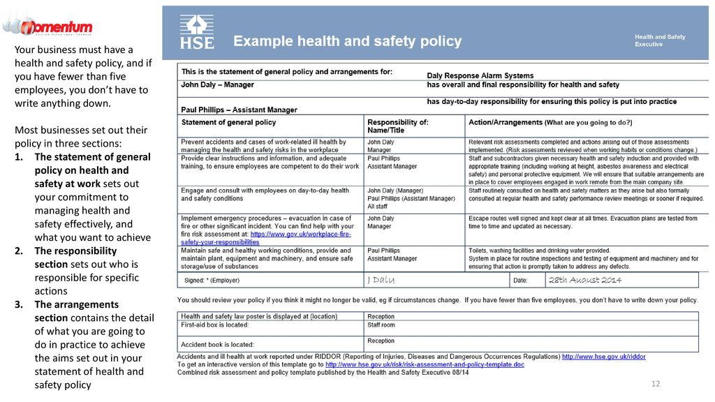 QETA/001 Engineering and Environmental health and safety - ppt download