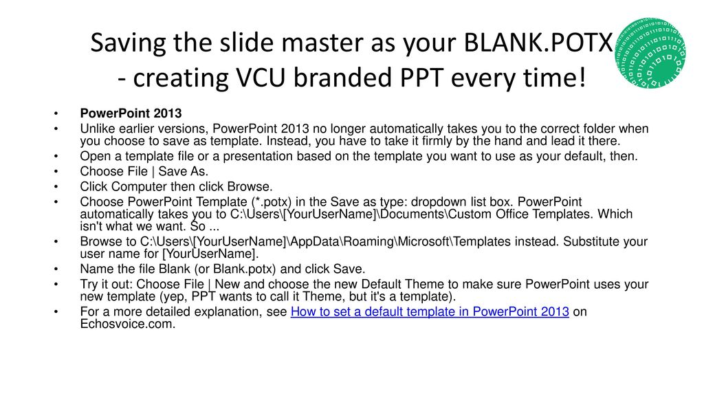 Welcome To The New 16 9 Vcu Powerpoint Template Ppt Download