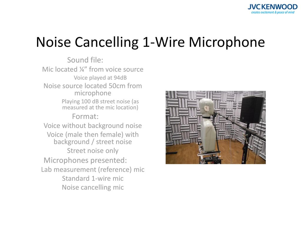 microphone with no background noise