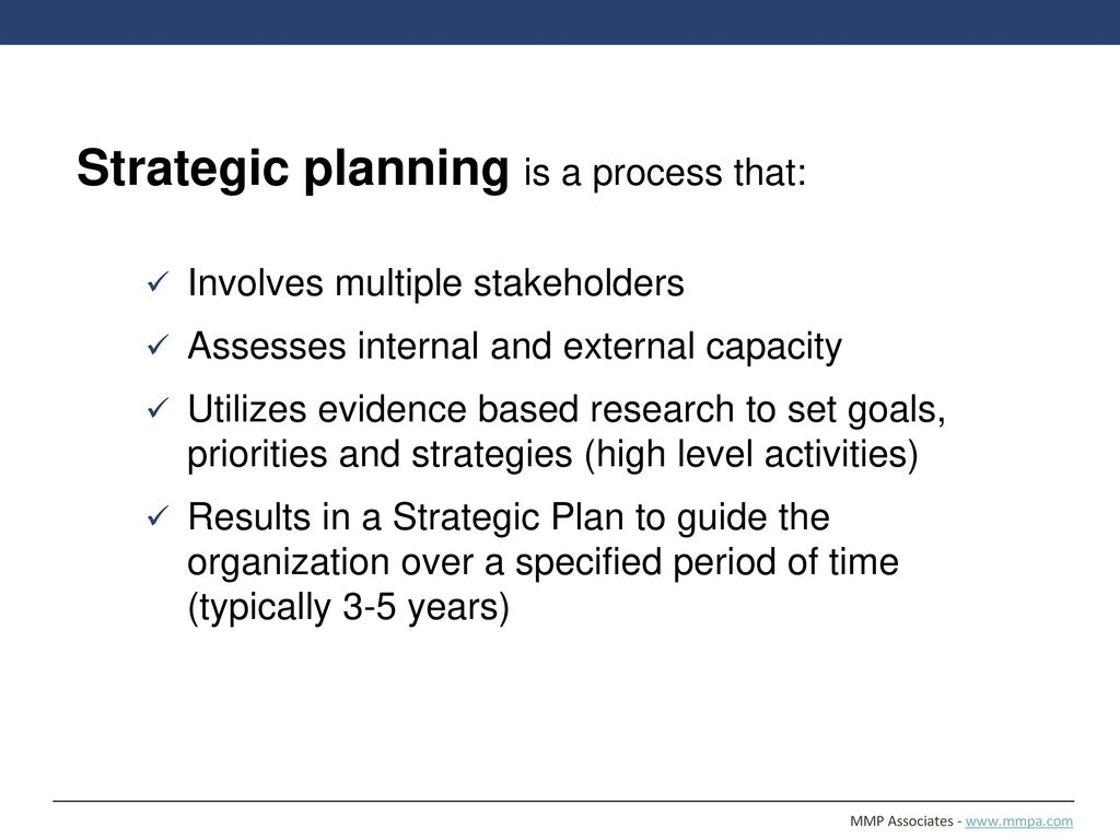 Strategic planning a tool to promote organizational effectiveness 4 strategic malvernweather Images