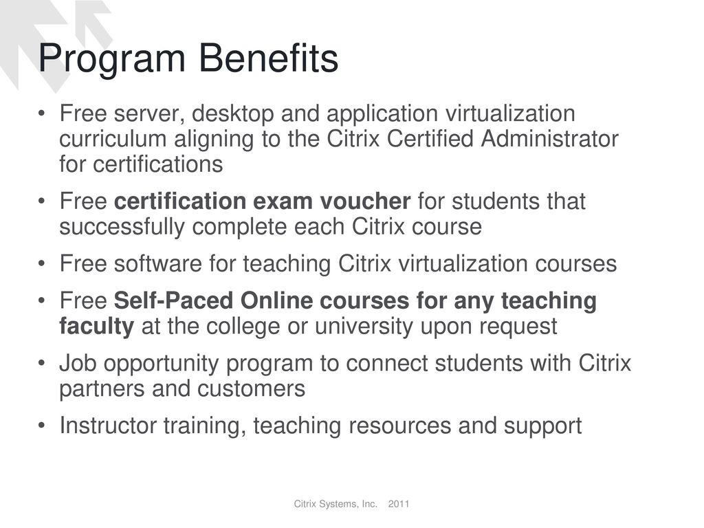 Citrix Academic Network Ppt Video Online Download