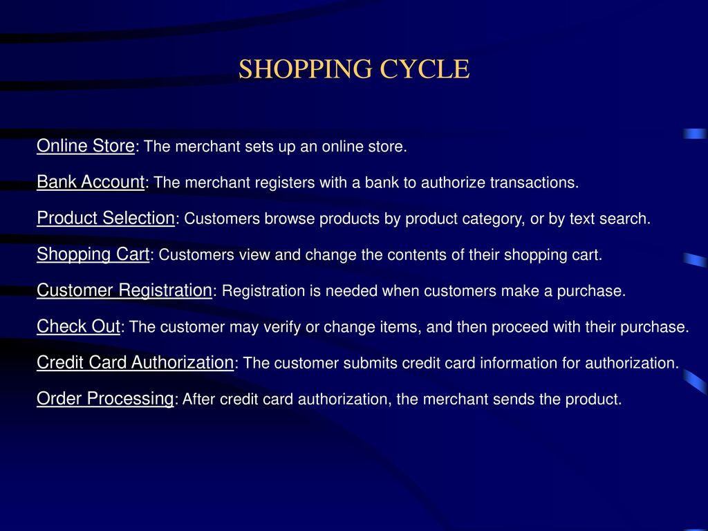E- Commerce transactions And Shopping Cart