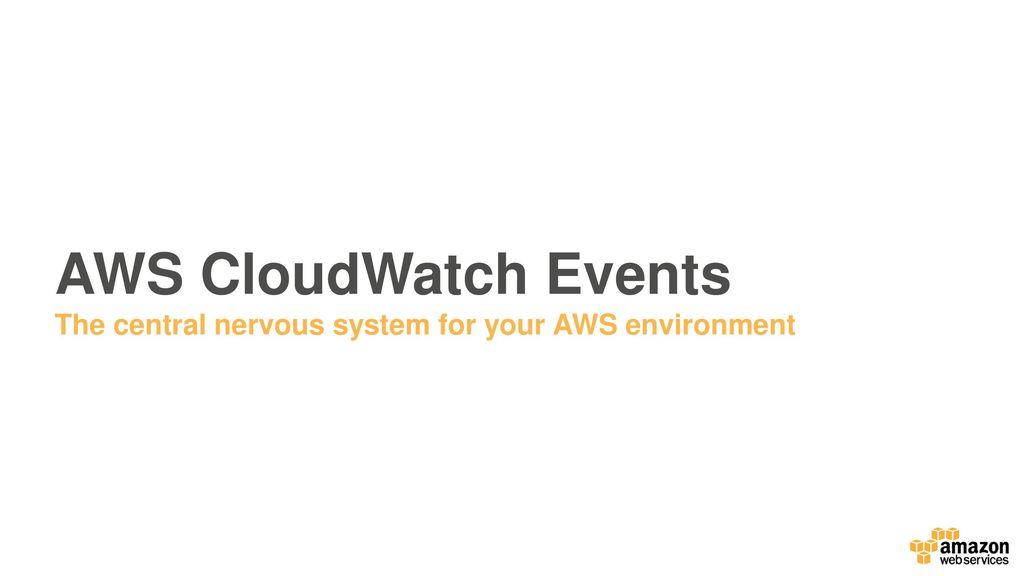 AWS Monitoring & Logging - ppt download