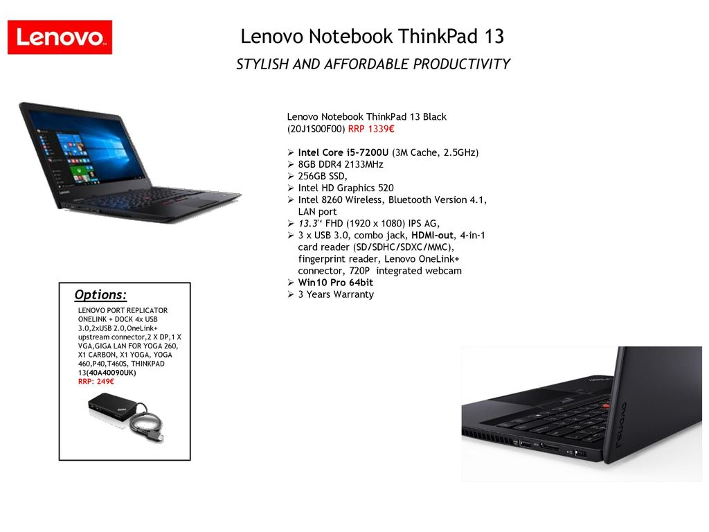 Lenovo Business Notebooks - ppt download