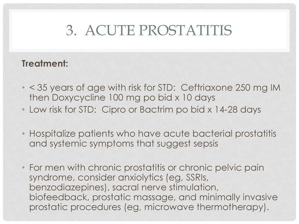 hogy a betegszabadság ha a prostatitis