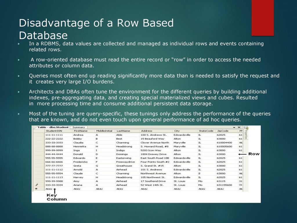 Column-Oriented DB & Bigtable - ppt download