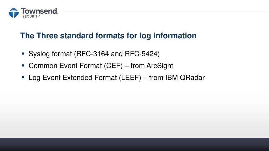 IBM i System Logging for Compliance & SIEM Integration - ppt