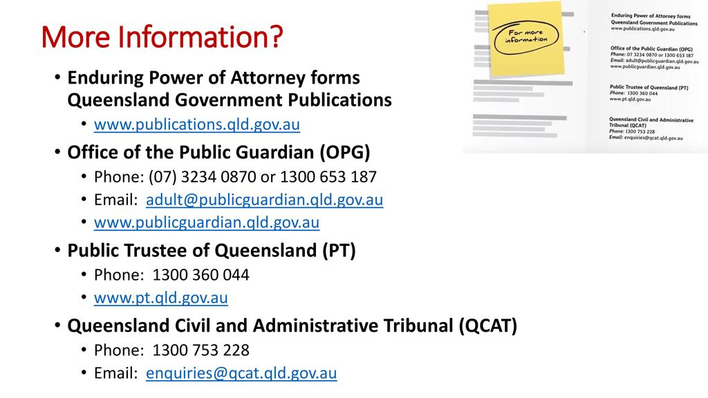 Enduring Power of Attorney (EPOA) - ppt download