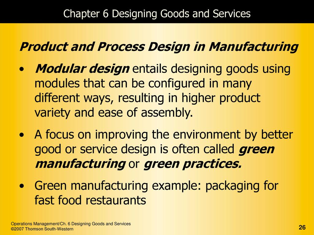 An Integrated Goods And Services Approach Ppt Download