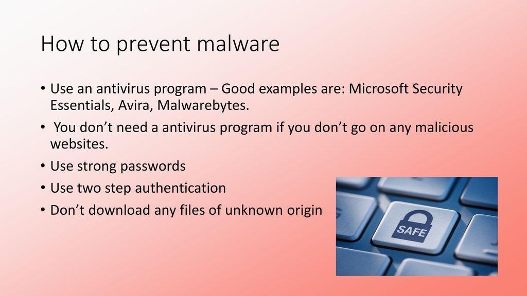 malwarebytes microsoft security essentials