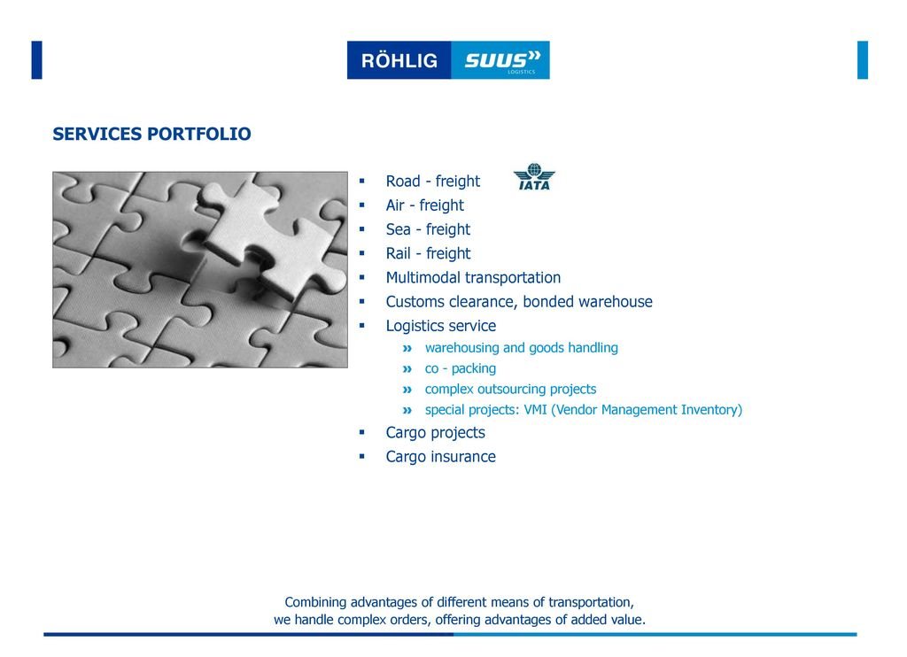 COMPANY PROFILE Services portfolio - ppt download