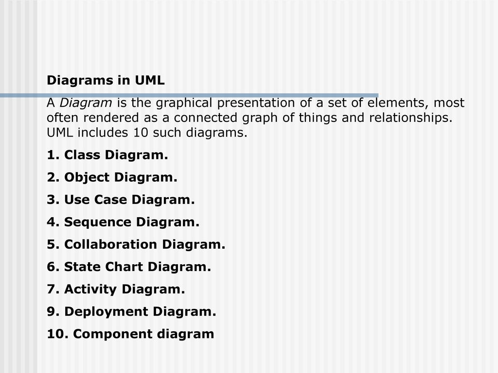Uml An Overview Ppt Download Between Statechart And Sequence Diagram Programmers Stack Exchange 12 Diagrams