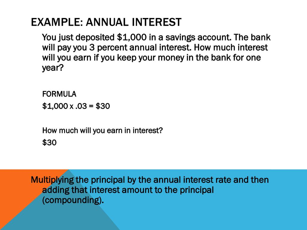 How Much Interest Will I Pay >> Calculating Interest You Can Calculate The Time Value Of