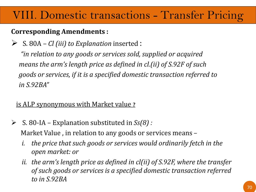 current issues in transfer pricing - ppt download