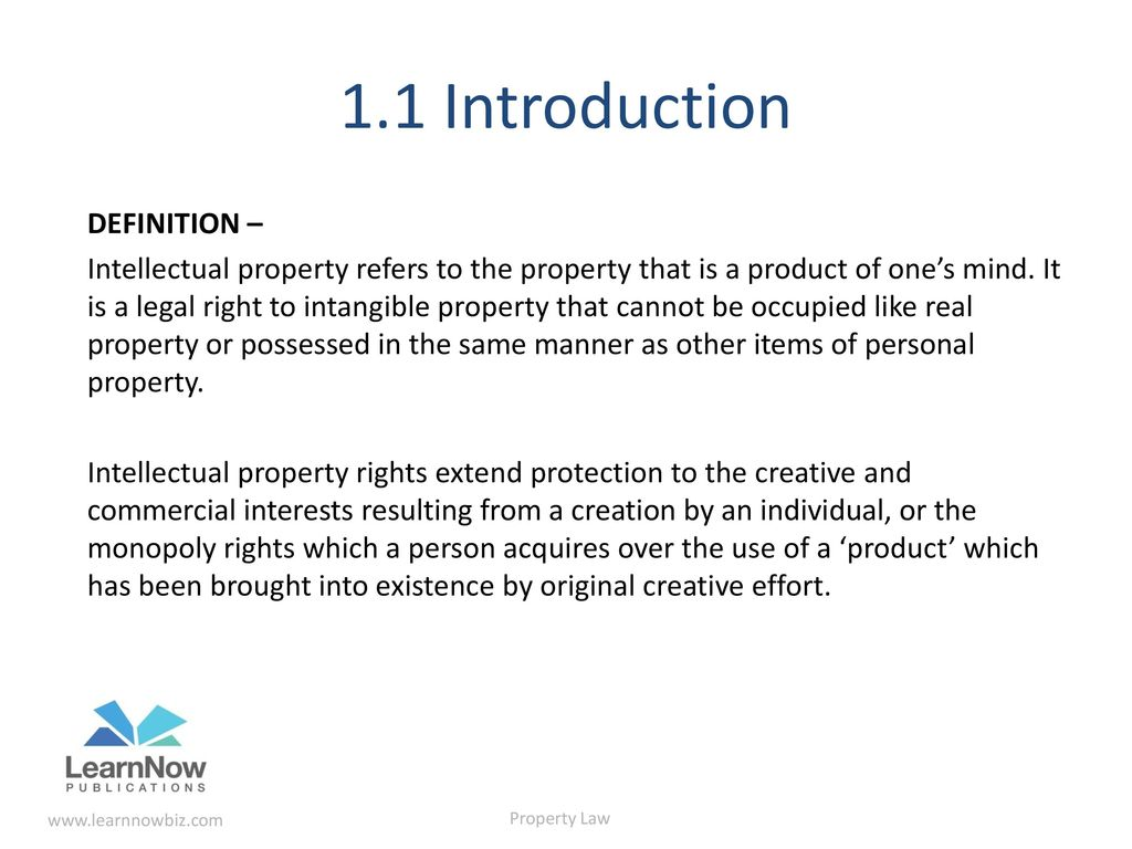intellectual property – application, protection and commercial value