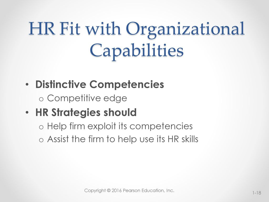 Meeting Present and Emerging Strategic Human Resources