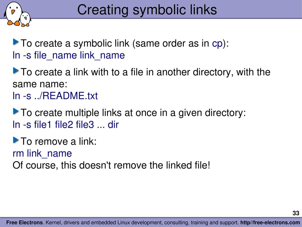 Linux Create Symbolic Link Gallery Meaning Of This Symbol