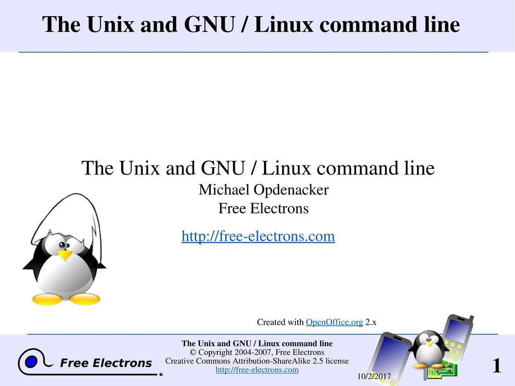 The Unix And Gnu Linux Command Line Ppt Download