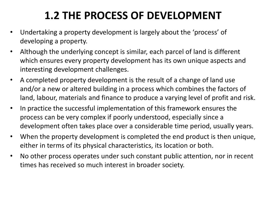 Property Development (6th Edition) - ppt download