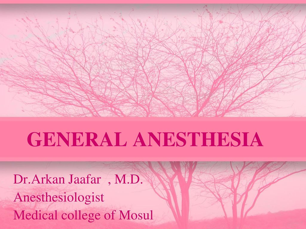 Drkan Jaafar Md Anesthesiologist Medical College Of Mosul
