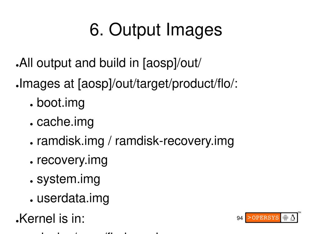 Embedded Android ppt download