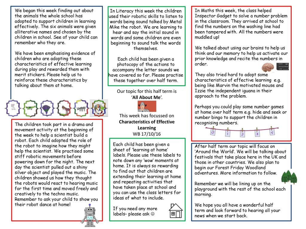 Our topic for this half term is \'All About Me\'. - ppt download