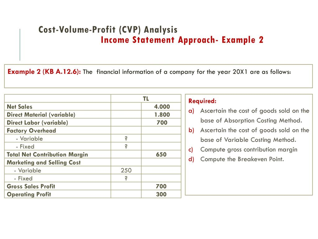 Management AccountIng - ppt video online download
