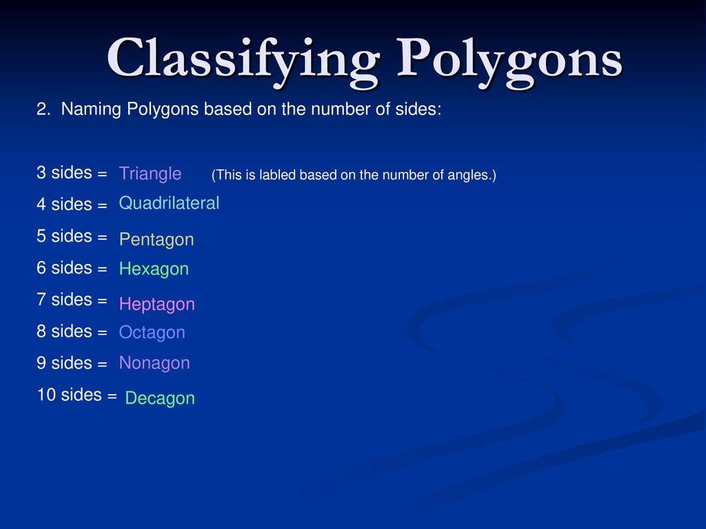 Worksheets Classifying Polygons Worksheet polygon worksheet 1 concave convex ppt video 2 classifying