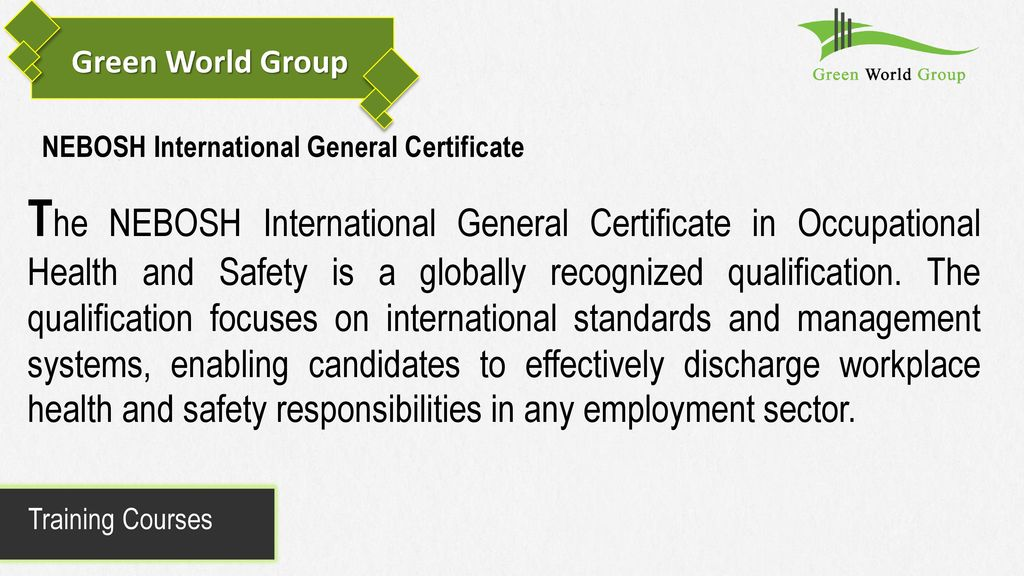 Green World Safety And Security Consultancy Llc Ppt Download