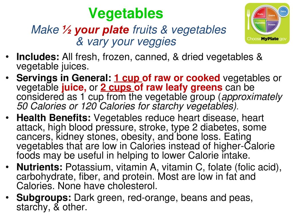 The MyPlate Food Guidance System Module ppt download