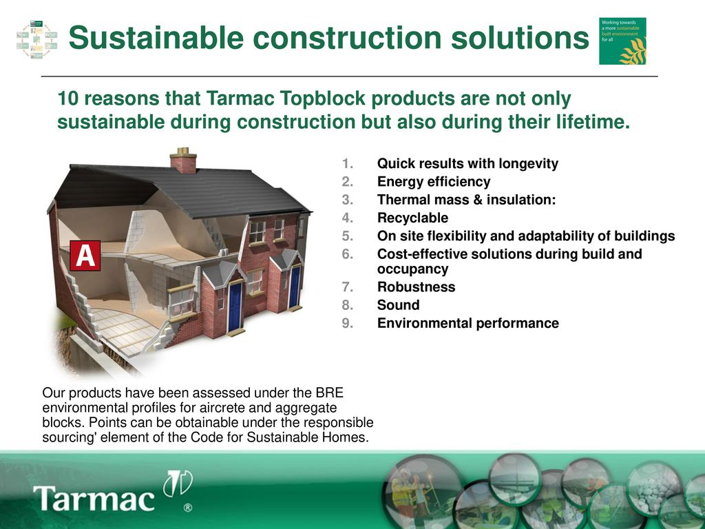 Tarmac Topblock and Sustainability - ppt download