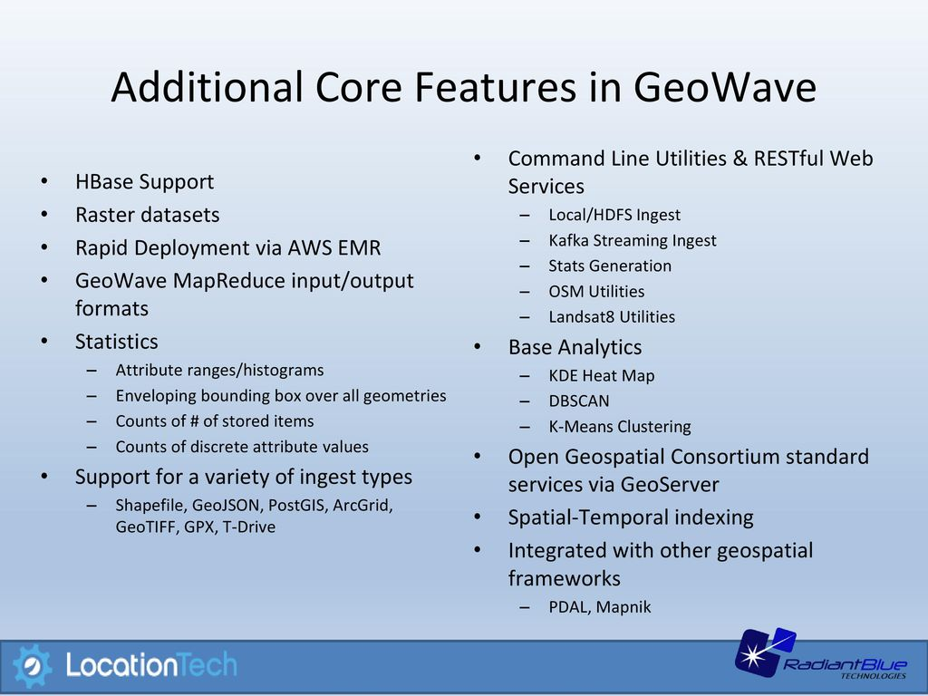 Distributed Geospatial Indexing - ppt video online download