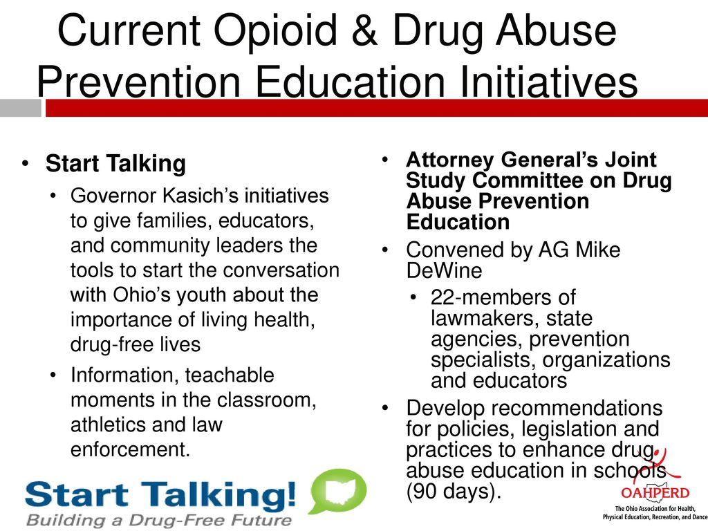 How To Start The Conversation About Drug Use >> Health Opioid Abuse Prevention Education Hope Curriculum