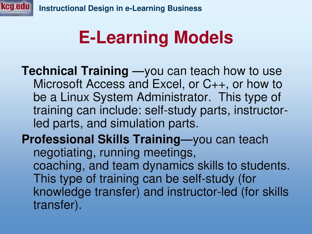Introduction to e-Learning - ppt download