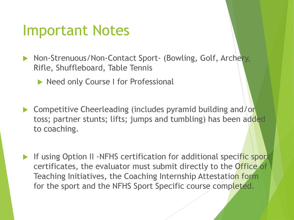 Guidelines For Coaches Ppt Download