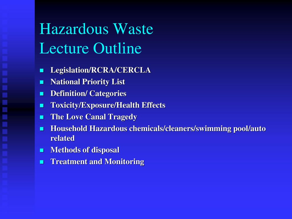 hazardous waste (infectious, toxic, radioactive) - ppt download
