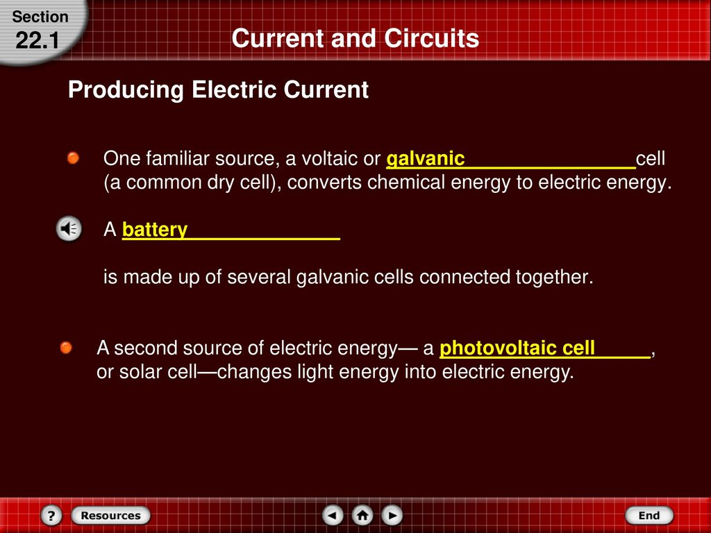 Current Electricity 22 In This Chapter You Will Ppt Download Parallel Circuits The Cells Are Connected All And 221 Producing Electric